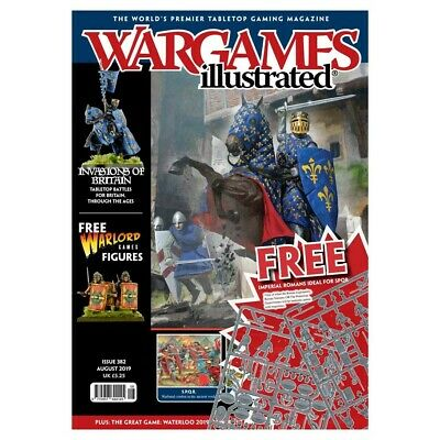 Wargames Illustrated - Issue 382 Aug 2019 - Invasions Of Britain - With Sprue • 10£