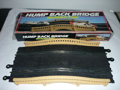 Scalextric Classic Hump Back Track Bridge With Parapets Boxed Analogue 80's/90's • 12£