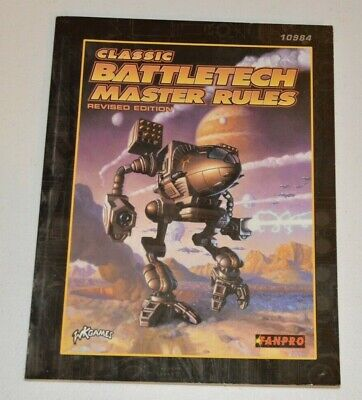 CLASSIC BATTLETECH Master Rules Revised Edition Fanpro WK Games • 12£