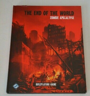 THE END OF THE WORLD ZOMBIE APOCALYPSE By Fantasy Flight RPG Horror • 90£