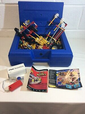 Knex, Large Case With Power Pack, Used Good Condition • 15£