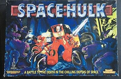 SPACE HULK 2nd Edition BOARD GAME - 100% Complete UNUSED OPENED [ENG,1996] • 129.99£