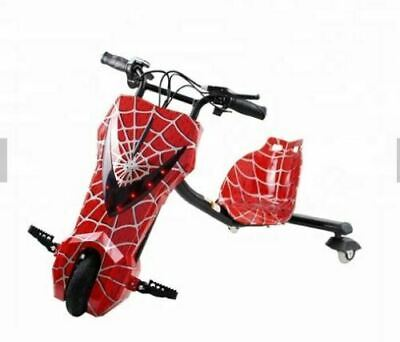 Drift Trike Tricycle Electric Scooter 12V Ride On Bike 360-New • 120£