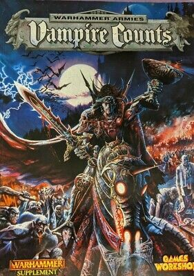 Games Workshop, Warhammer, Vampire Counts: Army Book, 5th Edition (1999), OOP • 15£