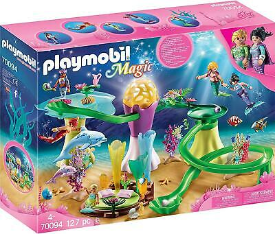 Playmobil Magic - Mermaid Cove With Illuminated Dome 70094 • 49.99£
