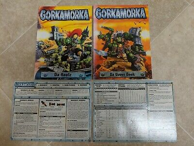 Gorkamorka Da Roolz Da Uvver Book Playsheets 1997 Games Workshop Warhammer 40K • 13.99£