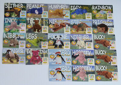 TY Beanie Babies Collector / Trading Card Bundle - (1999) Slightly Imperfect. • 5.75£