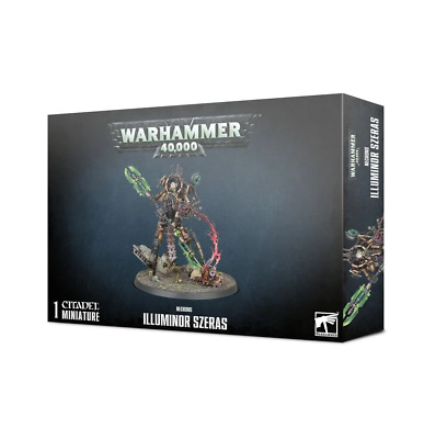 NECRONS ILLUMINOR SZERAS Warhammer 40k Games Workshop 20% Off Uk Rrp • 24£
