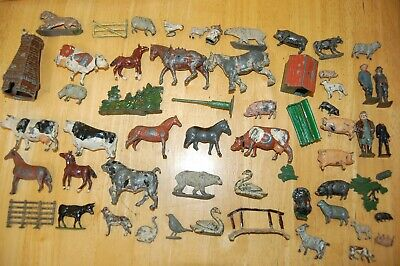 Job Lot Of Vintage Britains And Other Makes Lead Farm & Zoo Animals         N70 • 9.99£