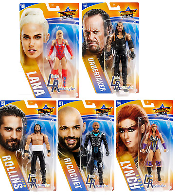 WWE Figures - Basic Series 109 - Mattel - Brand New - Sealed - SHIPPING COMBINES • 9.50£