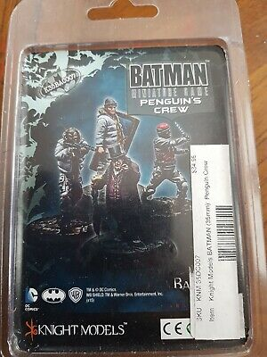 Batman Miniatures Game Penguins Crew Metal BNIB • 20£