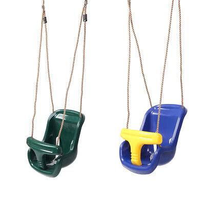 Children Child Kids Toddler Swing Adjustable Outdoor Garden Rope Safe Swing Seat • 13.99£