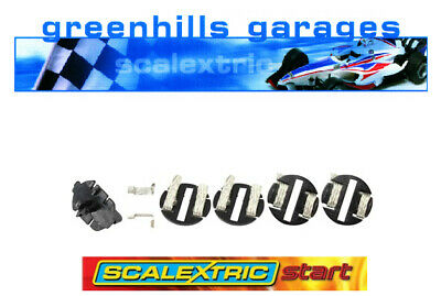 Greenhills Scalextric Start Guide Blades, 4 Braid Plates & Connectors C8312 -... • 4.83£