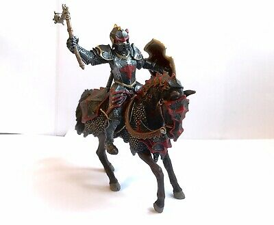 Schleich Dragon Knight On Horse With Flail • 17£