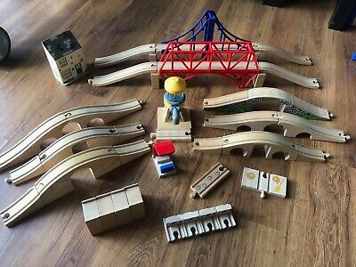 Large Selection Of Accessories For Brio / Wooden Train Track With Combined Post • 2£
