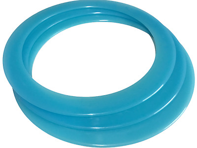 Juggling Rings  With Tutorial Booklet. Brand New, Fun, Playtime, Bargain Price!! • 4.95£