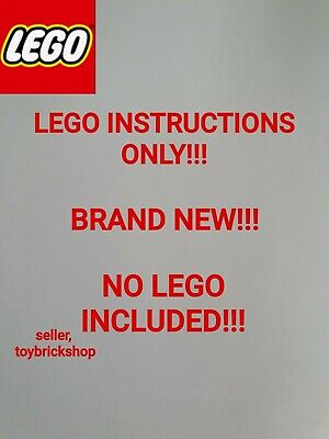 Lego Architecture New York City 21082 ☆ INSTRUCTIONS ONLY ☆ NEW • 6.99£