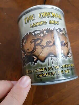 Tor Gaming Relics Orcnar Starter Army In A Can BNIB • 25£