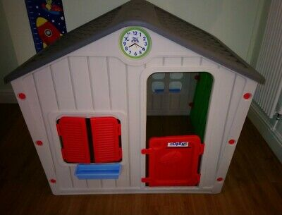 Chad Valley Indoor/Outdoor Plastic Wendy House - Multicoloured ONLY USED INDOORS • 17£
