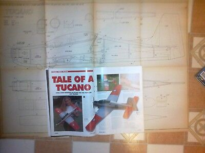 Tucano Semi Scale Sport Model Plan & Write Up By C Carr • 5£