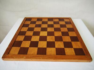 VINTAGE CHESS  BOARD CONTINENTAL JAQUES STYLE 17 Inches SQUARES OF 48mm • 150£