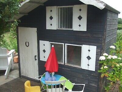 Large Wooden Playhouse  • 60£
