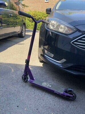 Children Stunt Scooter - Purple • 9£