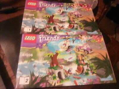 Lego Friends Instruction Manuals 41036 Book 1 And 2 • 3.50£