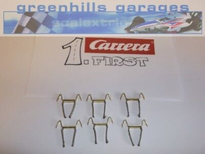 Greenhills Scalextric Carrera First Double Contact Brushes / Braids X 6 - NEW... • 9.89£