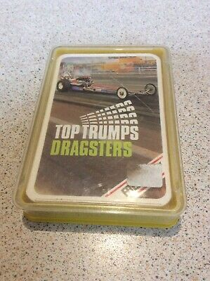 RARE VINTAGE 70s DRAGSTERS TOP TRUMPS • 3£