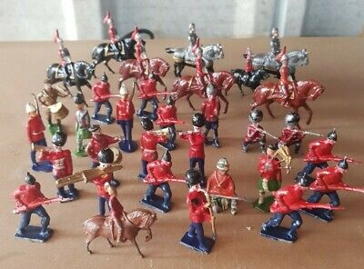 Antique Vintage Toys Painted Lead Soldiers Good Selection • 17.03£