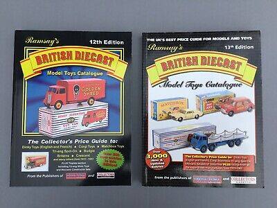 RAMSAY'S BRITISH DIECAST MODEL TOYS CATALOGUES X 2 • 10£
