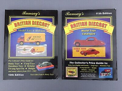 Ramsay's Diecast Model Toys Catalogues X 2 • 7£