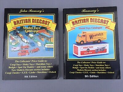 Ramsay's British Diecast Model Toys Catalogues X 2 • 7£