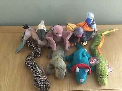 Ty Beanie Babies Bundle - Dinosaurs And Reptiles • 5.50£