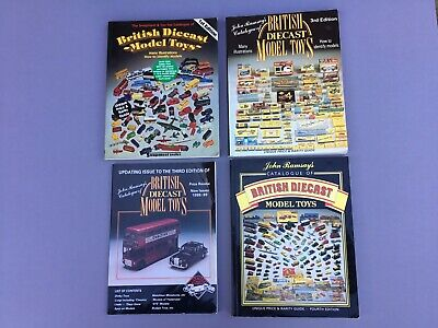 Ramsay's British Diecast Model Toys Catalogues X 4 • 10£