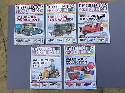 Toy Collectors Price Guides X 5 • 7.50£