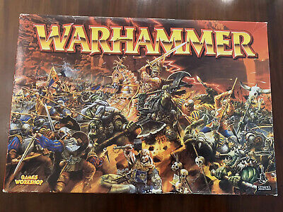 OOP Warhammer Fantasy Battle Boxed Game, Orcs/Empire, Complete • 160£