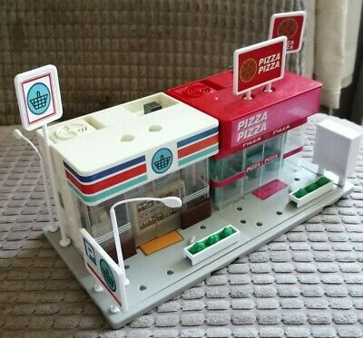 Tomy Tomica Hypercity Supermarket And Pizza Shop • 15£