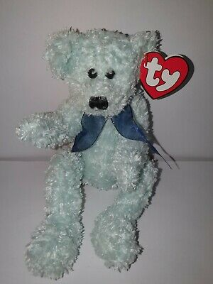 TY Attic Treasures Collection 'Armstrong' Mint Green Bear 1993 Vintage • 10£