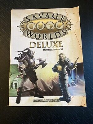 Savage Worlds RPG Deluxe Explorers Edition • 5£