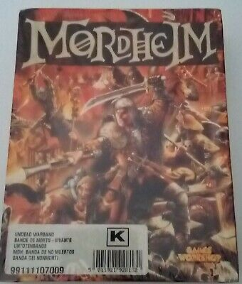 Mordheim - Undead Warband - Sealed • 130£