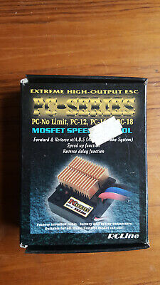 Vintage RCLine Electronic Mosfet Speed Controller - PC-18 - ESC • 5£