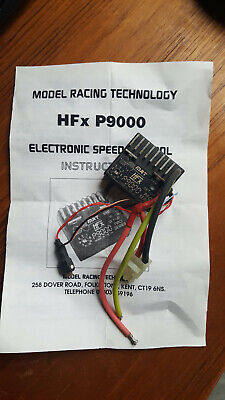 Vintage Model Racing Technology HFx P9000 Electronic Speed Controller - ESC • 5£