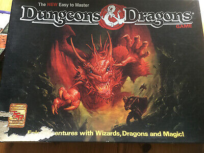 Dungeons And Dragons Fantasy Adventure Board Game • 1£