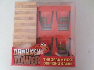 Adults Party Drinking Game  The Drunken Tower  • 5£
