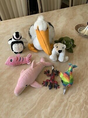 Soft Toy Bundle (8 Toys In Total) Theme Water Animals / Creatures • 7£