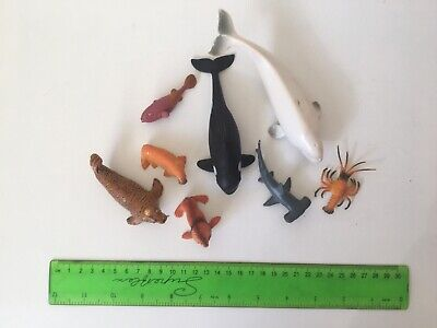 Under The Sea Toy Figures • 1.50£