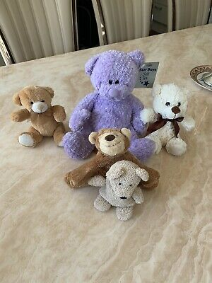 Soft Toy Bundle (5 Toys In Total) Theme Teddy Bears • 5£