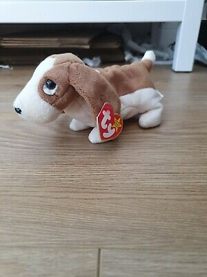 Ty Beanie Baby Tracker The Dog With Tag  • 2£